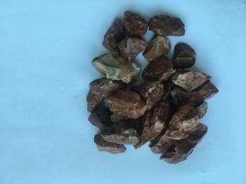 Красная мраморная крошка фр.5-20мм (натуральная)